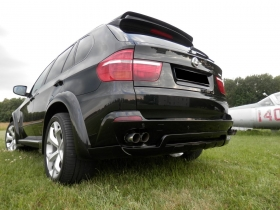 Купить накладку заднего бампера на BMW X5 E70