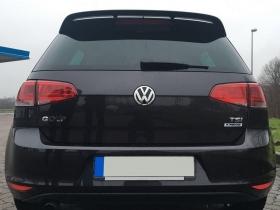 . Спойлер на крышку багажника Volkswagen Golf 7 в стиле Votex