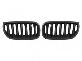 Решетка радиатора,черная, матовая