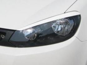 Реснички Гольф 6, накладки фар VW Golf 6
