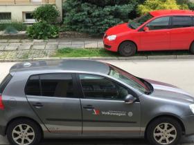 Тюнинговые наклейки на кузов Volkswagen