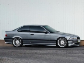 Акция! Накладка передняя BMW E36 Альпина