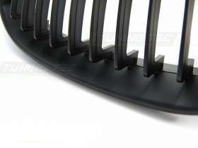 Решетка радиатора, ноздри BMW E60, черный мат.