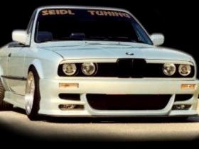 Реснички, накладки фар BMW E30 ABS