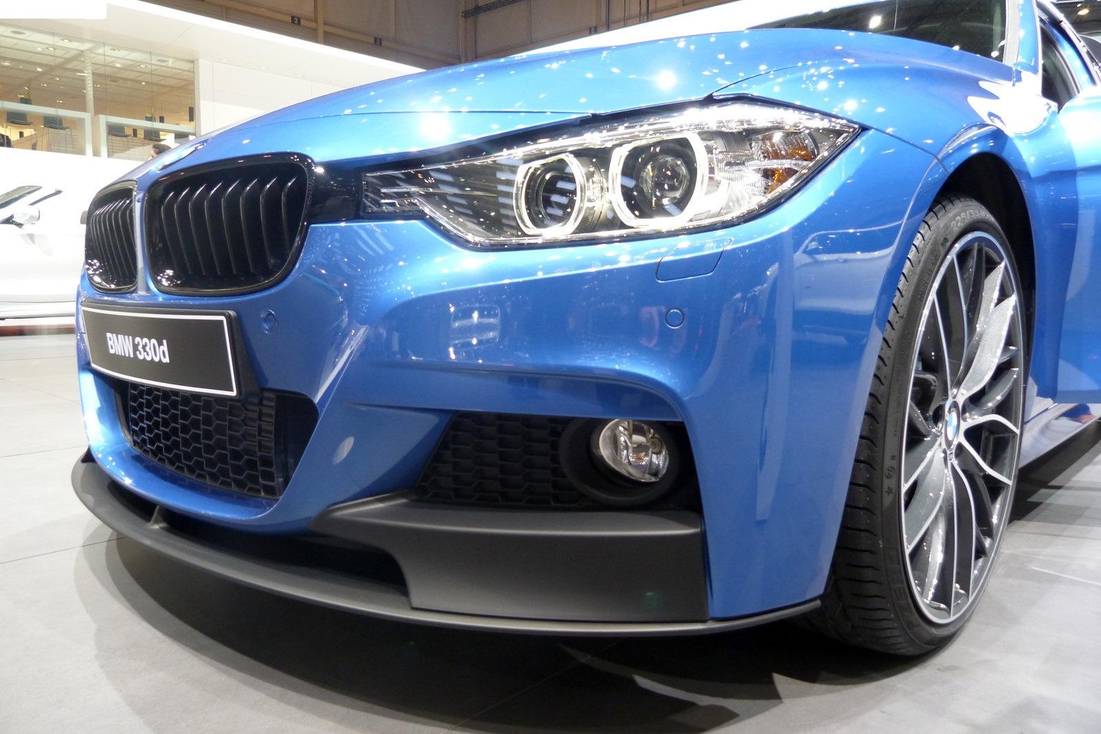 .Накладка переднего бампера BMW F30 / F31 M-PERFORMANCE