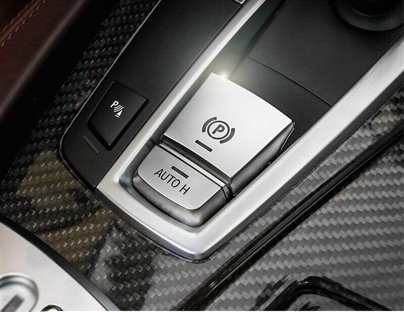 .Накладка на кнопку центрального тормоза БМВ