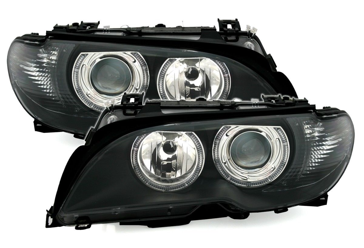 .Оптика передняя, фары на БМВ E46 (Coupe / Cabrio)