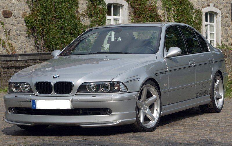 .Пороги BMW E39 стиль Шницер