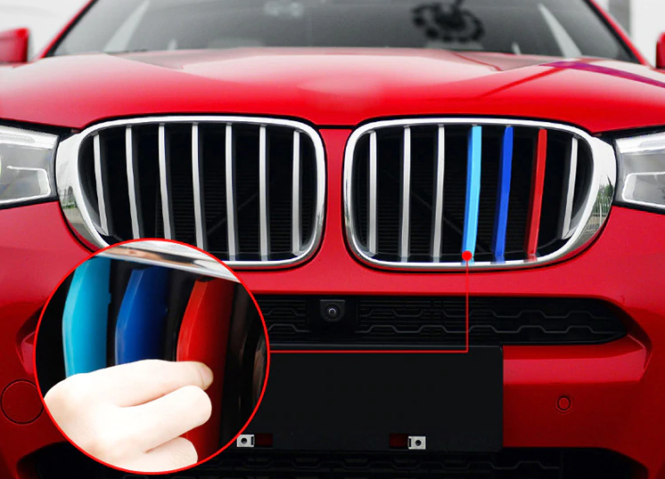 Вставки в решетку радиатора BMW X3 F25 / X4 F26