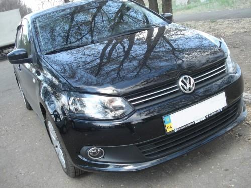 Дефлектор капота мухобойка EGR Volkswagen Polo 2009+