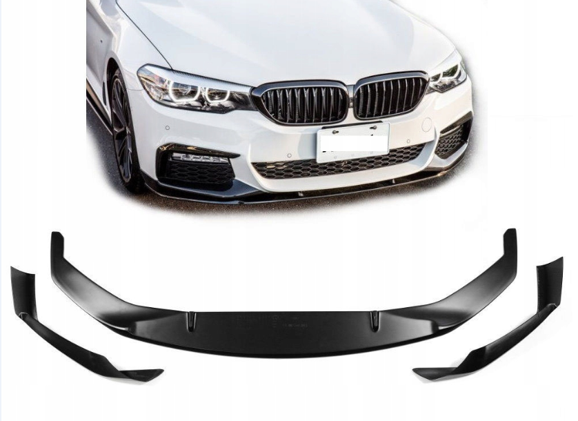 .Накладка переднего бампера BMW 5 G30 / G31 стиль M-PERFORMANCE