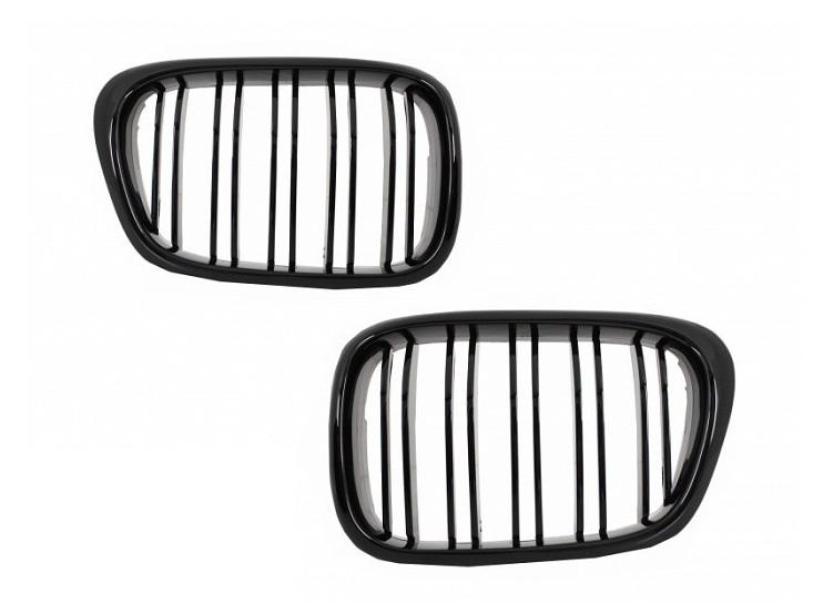 .Решетка радиатора, ноздри на BMW E39 стиль м5