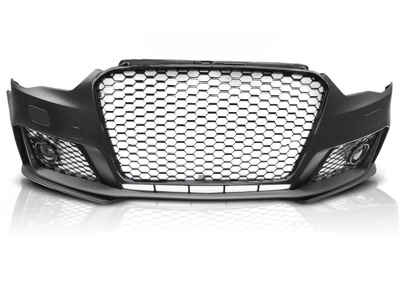Бампер передний AUDI A3 в стиле RS3 без места под парктроники