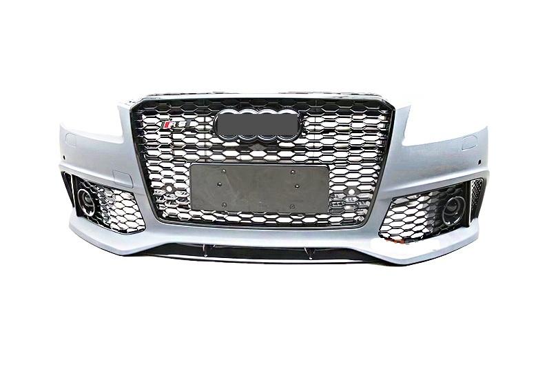 Бампер передний Audi A8 стиль RS8 (2015-...)