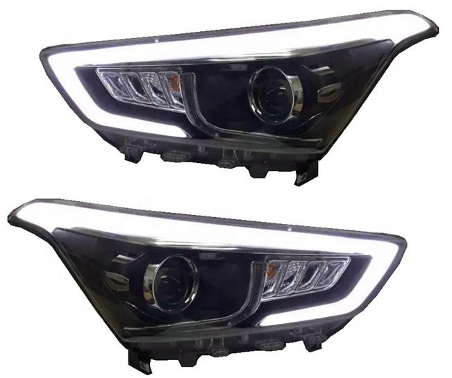 Оптика передняя, фары на Hyundai Creta IX25 (ксенон)