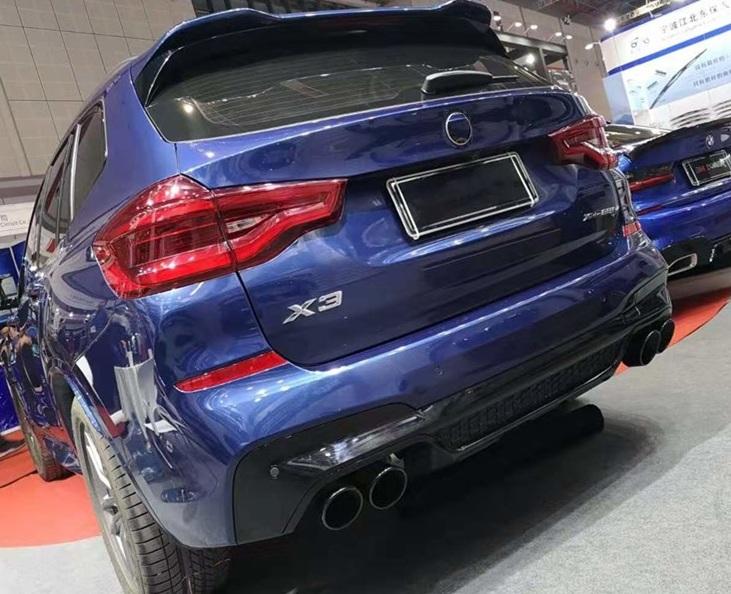 Накладка на задний бампер BMW X3 G01 стиль М-Performance