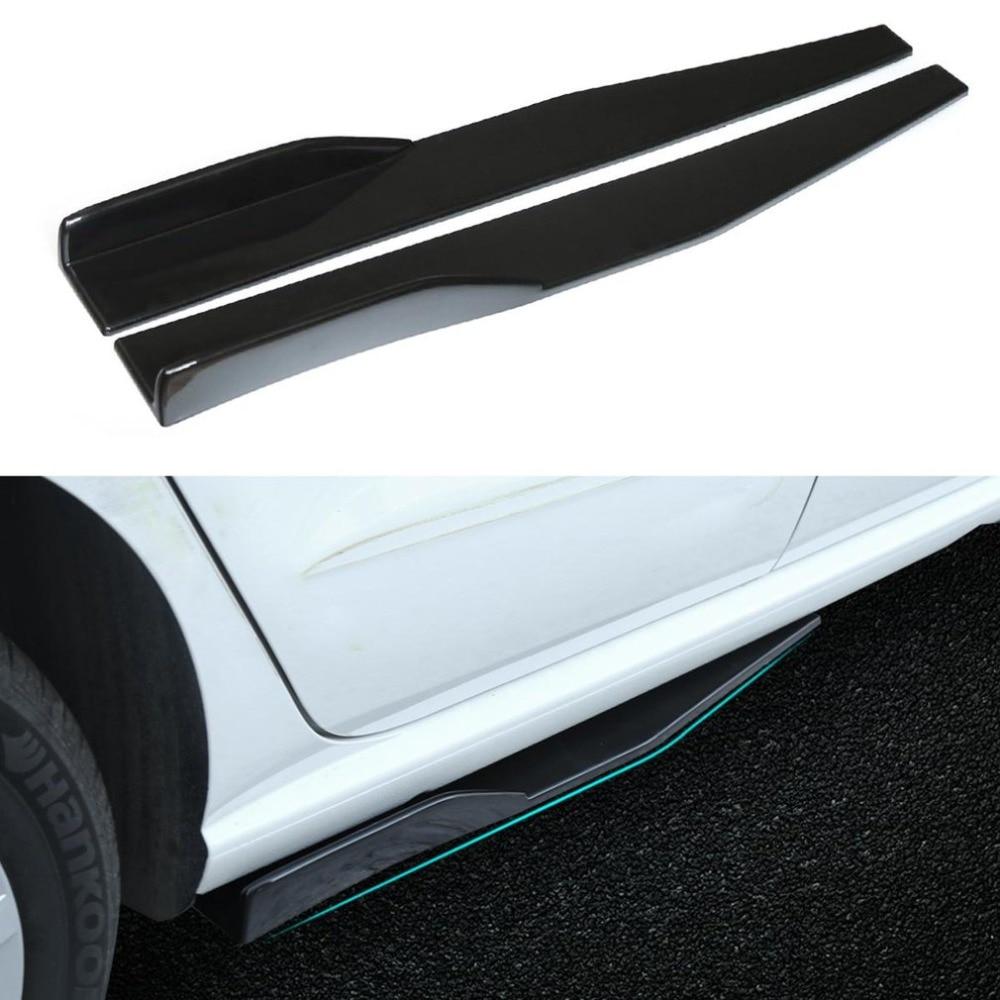 .Накладки (диффузоры) порогов автомобиля универсальные