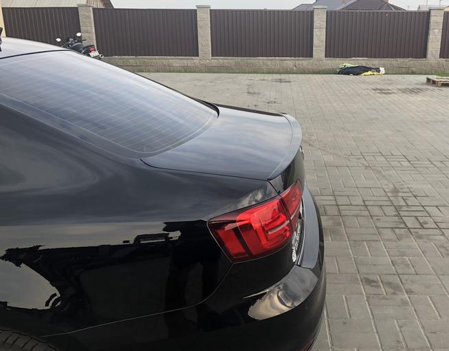 .Cпойлер крышки багажника Volkswagen Jetta 7, ABS-пластик