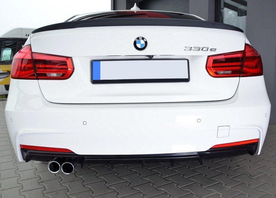 .Накладка на задний бампер BMW F30 М-Performance