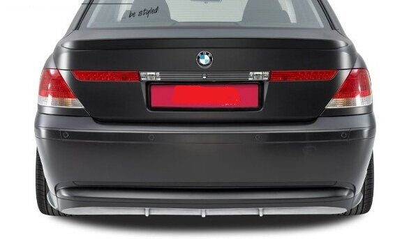 .Накладка заднего бампера для BMW E65