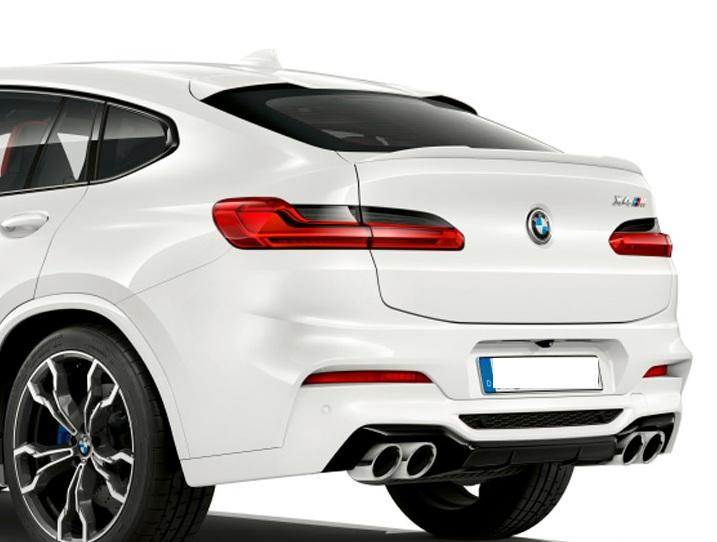 .Спойлер BMW X4 G02 стиль M4 (ABS-пластик)