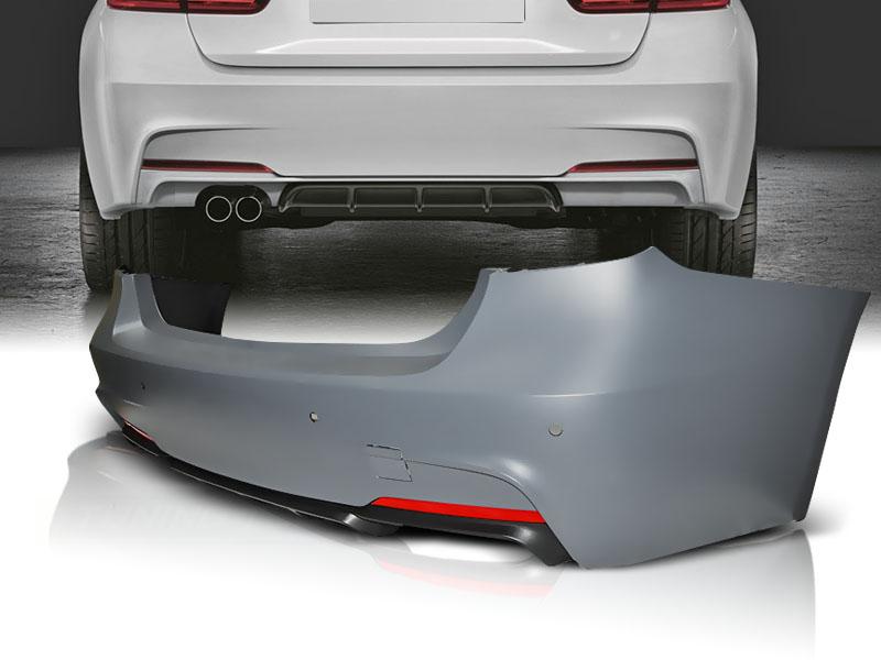 .Бампер задний BMW F30 стиль М-Performance