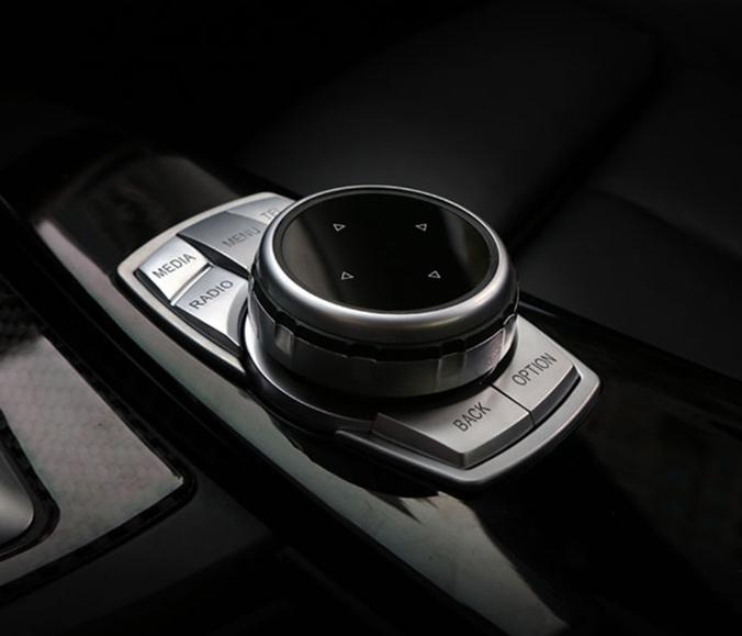 .Накладки на кнопки мультимедийного центра BMW F10, F20, F30