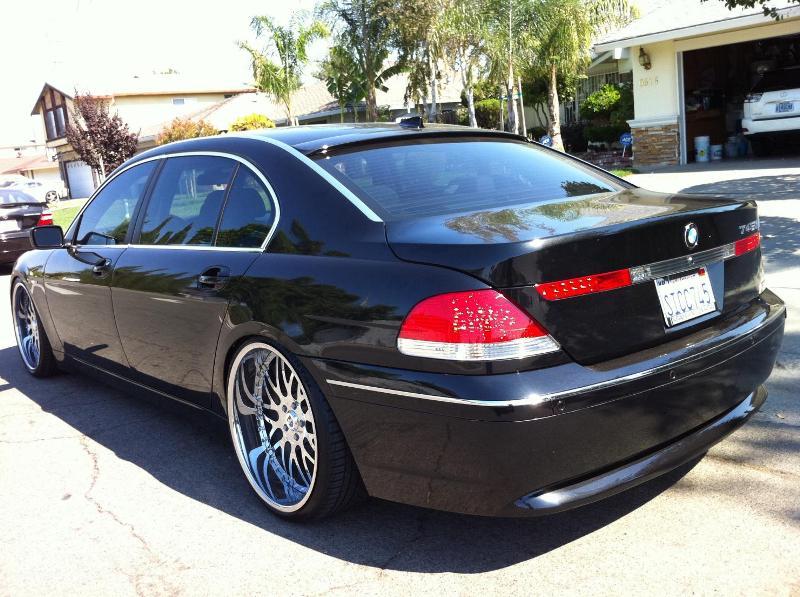 .Бленда, козырек на BMW e65, e66