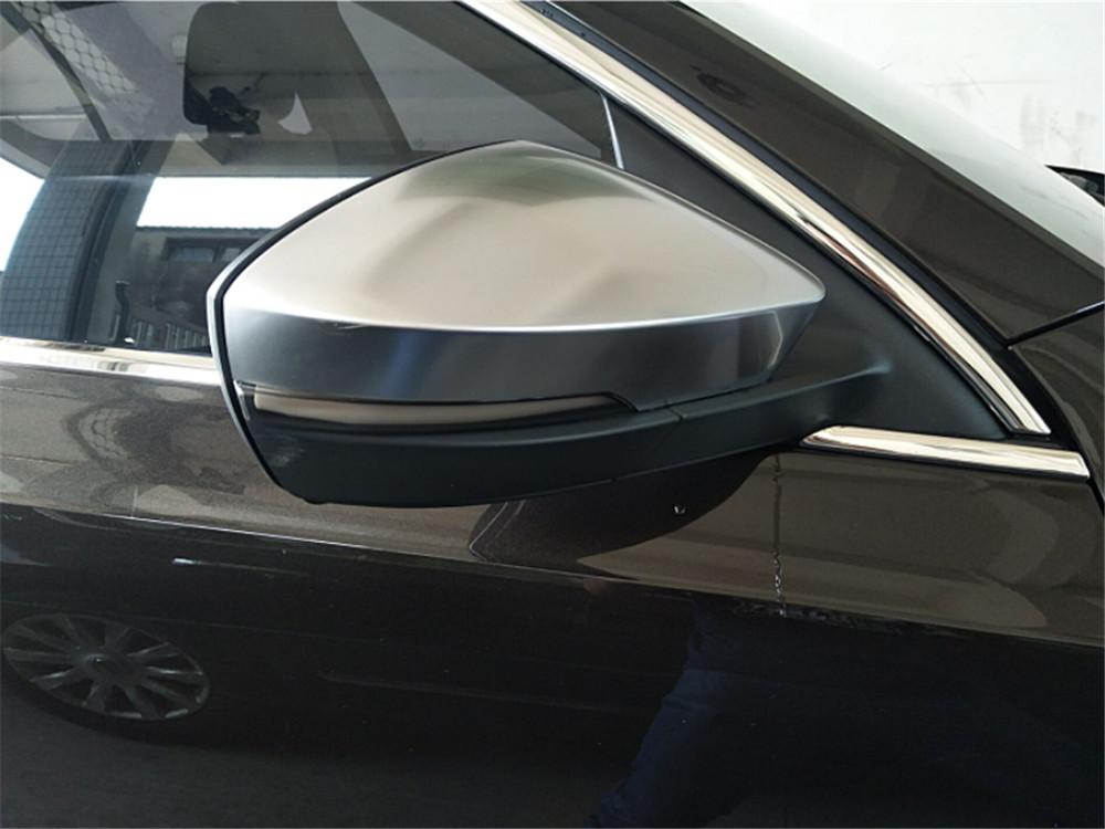 Накладки на зеркала Skoda Octavia A7, хром