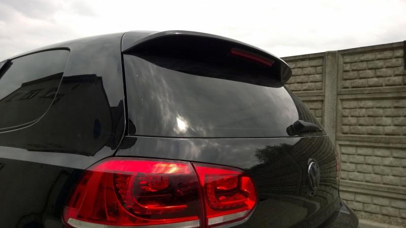 .Cпойлер крышки багажника Фольксваген Гольф 6 стиль GTI