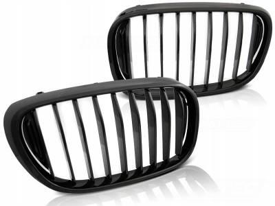 Решетка радиатора (ноздри) BMW 7 G11 / G12 черная глянцевая