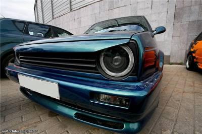 Ресничка Гольф 2, накладка фар VW Golf 2 бедлук