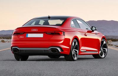 Бампер задний + диффузор для Audi A5 RS5 (2016-...)