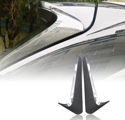 Боковые спойлеры на заднее стекло Toyota Highlander II (2014-2019)