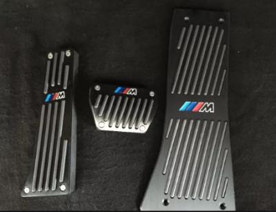 """.Накладки на педали BMW с логотипом """"М"""", темные, автомат"""