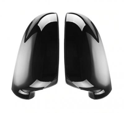 Накладки на зеркала Volkswagen черный глянец
