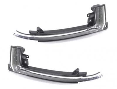 Динамические повторители поворотов Audi A3/A4/A5/A6/Q3 дымчатые, дорестайл