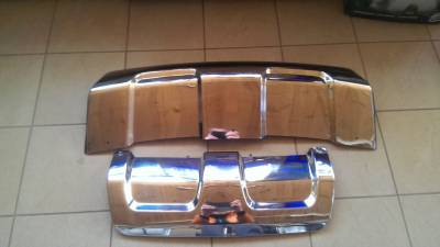 Защитные накладки на бампер Range Rover Sport (2013-...)