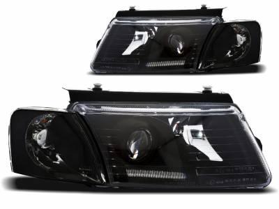 Оптика передняя, фары на VW Passat B5