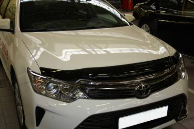 Дефлектор капота, мухобойка EGR на Toyota Camry 55