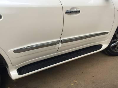 Молдинги на двери Lexus LX 570 2008-2019