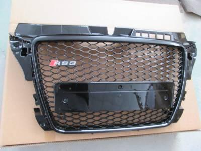Решетка радиатора Audi A3 RS3 без эмблемы (2008-2012)