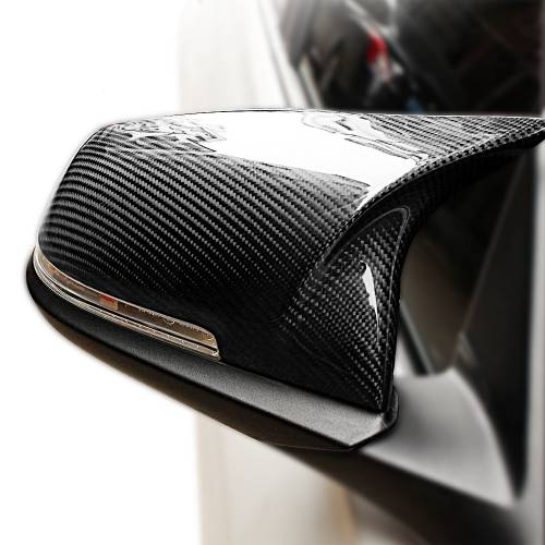 .Карбоновые накладки на зеркала BMW 5 серии F10 стиль M look