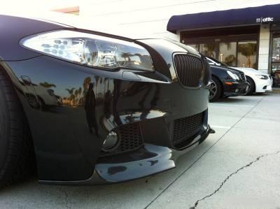 .Накладка на передний бампер BMW F10/F11 М пакет