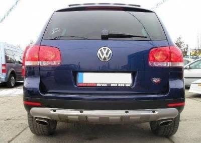 Накладка заднего бампера для Volkswagen Touareg