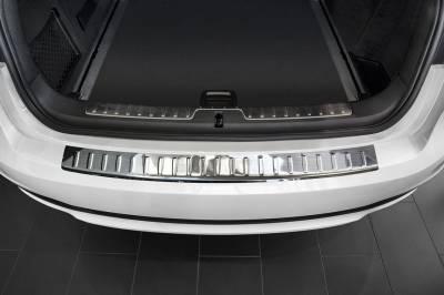 Накладка на задний бампер BMW X6 F16