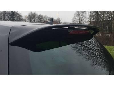 Спойлер на крышку багажника Volkswagen Golf 7 Votex