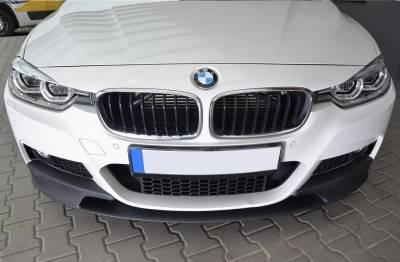 Накладка переднего бампера (диффузор) BMW F30 / F31 M-PERFORMANCE