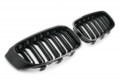 Решетка радиатора BMW 3 GT F34 М3 черная глянцевая