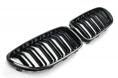 Решетка радиатора BMW 6 F06, F12, F13 М6 черная